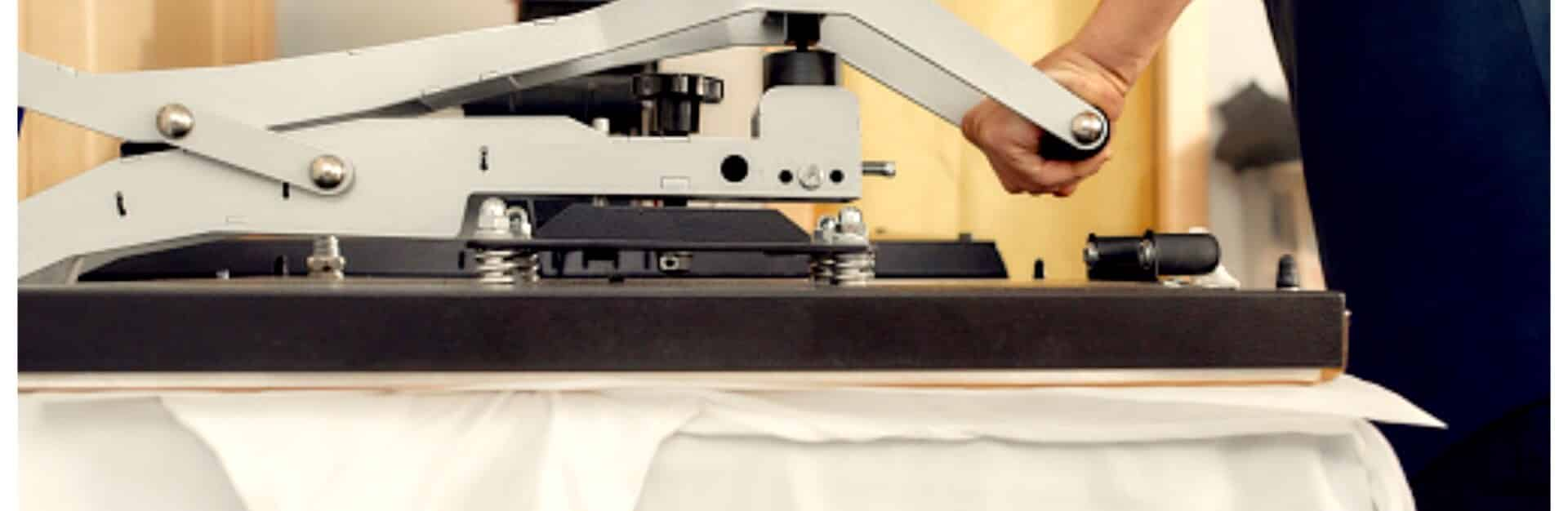 Kuumpresstrükk sobib hästi tekstiilile